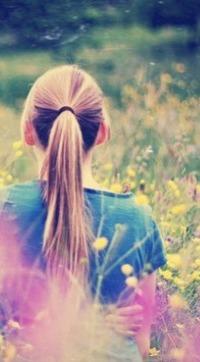 Фото для авы девушки с цветами