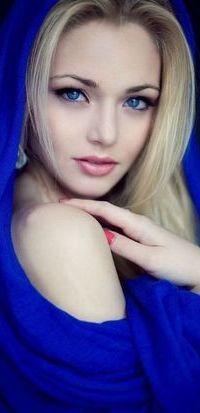 Фото на аву девушки голубоглазой
