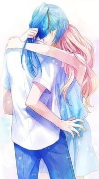 Аватар вконтакте Девушка обнимает парня