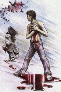 Аватар вконтакте Она ушла, забрав с собой все самое дорогое и любимое. Ушла, унося с собой его кровоточащее сердце, оставив в груди огромную рваную рану