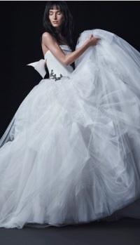 Аватар вконтакте Девушка в шикарном белом платье