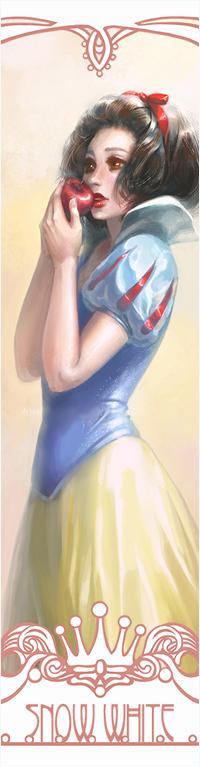 99px.ru аватар Белоснежка / Snow White из мультфильма Белоснежка и семь гномов / Snow White and the Seven Dwarfs, by hart-coco