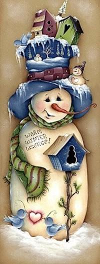 Аватар вконтакте Снеговик в большой шляпе с домиками и снеговиком и в шарфе / WARM WINTER WISHES!/ ТЕПЛЫЕ ЗИМНИЕ ПОЖЕЛАНИЯ, by Price Jaima Mlles
