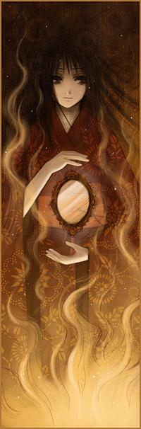 99px.ru аватар Аматэрасу - богиня-солнце ( «великое божество, озаряющее небеса»), by Radittz