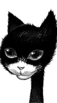 Аватар вконтакте Морда черного кота, ву Raphaеl Vavasseur