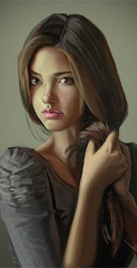 Аватар вконтакте Девушка с карими глазами