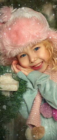 Аватар вконтакте Милая улыбающаяся девочка