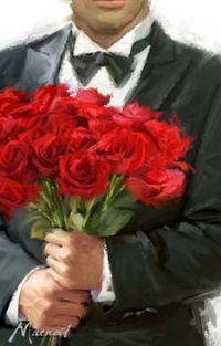 Парни с цветами на аву 92