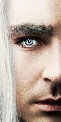 Аватар вконтакте Половина лица блондина с голубыми глазами, Thorin Oakenshield, фильм Хоббит, или Туда и обратно / The Hobbit, or There and Back Again