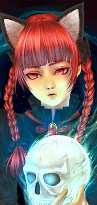 Аватар вконтакте Рин Каэмбе / Rin Kaenbyou из серии игр Проект Восток / Тохо / Touhou Project