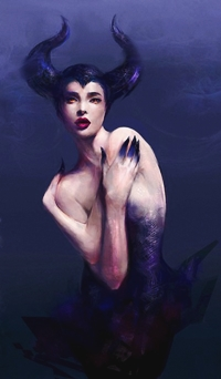 Аватар вконтакте Малефисента / Maleficent из мультфильма Спящая красавица / Sleeping Beauty, by Kanamm