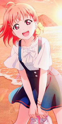 Аватар вконтакте Чика Таками / Chika Takami из аниме Живая любовь! Сияние! / Love Live! Sunshine!