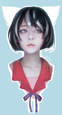 Аватар вконтакте Hanekawa Tsubasa / Цубаса Ханэкава из аниме Bakemonogatari / Бакэмоногатари