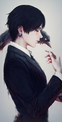 Аватар вконтакте Chrollo Lucifer / Хролло Люцифер из аниме Hunter x Hunter / Хантер x Хантер, art by RainNoir