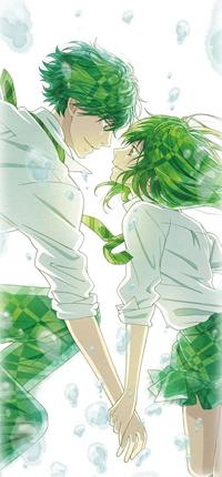 Аватар вконтакте Ко Мабучи / Kou Mabuchi и Футаба Йошиока / Futaba Yoshioka из аниме Неудержимая юность / Ao Haru Ride