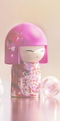 99px.ru аватар Расписная японская народная игрушка kimmidoll