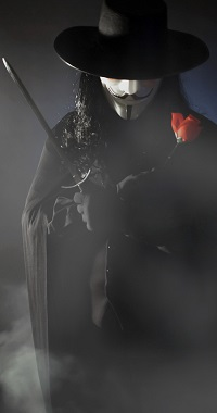 Аватар вконтакте Персонаж из фильма В значит Вендетта / V for Vendetta, cosplay