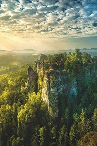 Аватар вконтакте Скалы в швейцарии