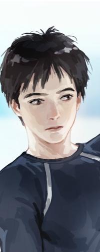 Аватар вконтакте Katsuki Yuuri / Кацуки Юри из аниме Yuri! On Ice / Юрий на льду, by Janemere
