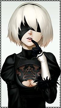 Аватар вконтакте YorHa 2B из игры NieR / Ниэр