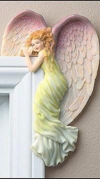 Аватар вконтакте Скульптура девушки - ангела