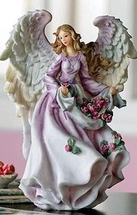 Аватар вконтакте Статуэтка девушки - ангела