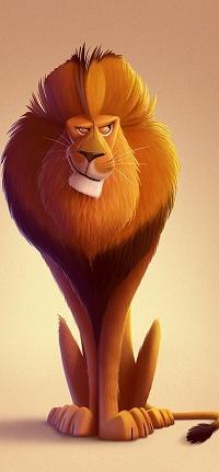 Аватар вконтакте Рисованный лев, by Eran Alboher