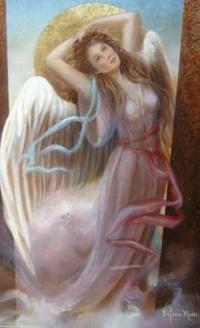 Аватар вконтакте Девушка - ангел, by Victoria Moore