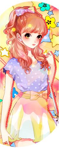 Аватар вконтакте Девушка одета в кофту и юбку, с хвостиком завязанным бантиком