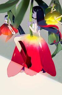 Аватар вконтакте Девушки эльфы сидят на цветах тюльпанов