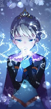 Аватар вконтакте Эльза / Elsa из мультфильма Холодное сердце / Frozen, автор 天然風