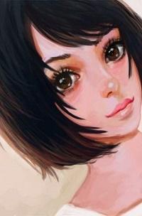 Аватар вконтакте Девушка с карими глазами, by enairya
