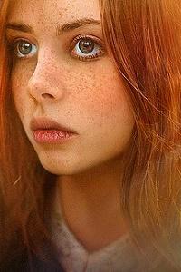 Аватар вконтакте Рыжеволосая девушка с веснушками, фотограф Сергей Betz