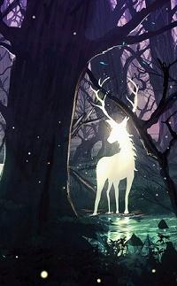 Аватар вконтакте Сказочный олень в лесу