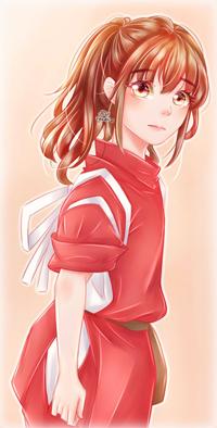 Аватар вконтакте Ogino Chihiro / Тихиро Огино из аниме Spirited Away / Унесенные призраками