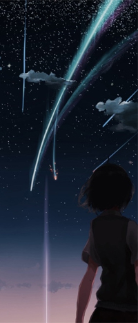 99px.ru аватар Мицуха Миямизу / Miyamizu Mitsuha из аниме Твое имя / Your Name / Kimi no Na wa
