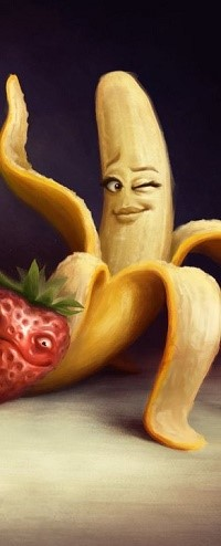 Банан извращенец картинка