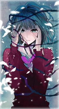 Аватар вконтакте Ханаби Ясураока / Hanabi Yasuraoka из аниме Тайные желания отвергнутых / Kuzu no Honkai
