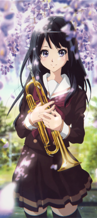 Аватар вконтакте Рэйна Косака / Reina Kousaka из аниме Звучи! Эуфониум / Hibike! Euphonium