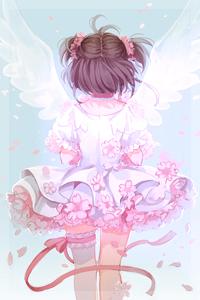 Аватар вконтакте Сакура Киномото / Sakura Kinomoto из аниме Сакура - собирательница карт / Cardcaptor Sakura, by Mia