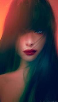 Аватар вконтакте Девушка с длинными волосами, by thienbao