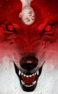 Аватар вконтакте Голова девушки на голове волка