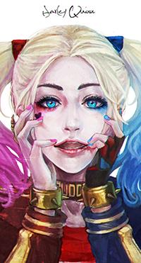 Аватар вконтакте Харли Квинн / Harley Quinn из фильма Suicide Squad / Отряд Самоубийц, автор Monori Rogue (Harley Quinn)