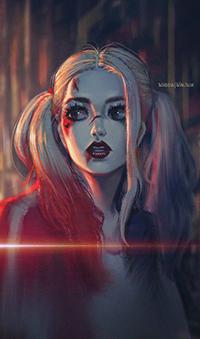 Аватар вконтакте Харли Квинн / Harley Quinn из фильма Suicide Squad / Отряд Самоубийц, автор David Pan