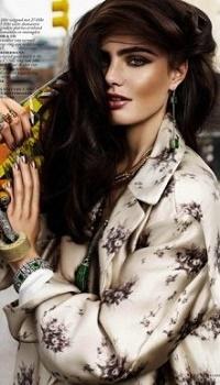 Аватар вконтакте Модель Маринет Матти в фотосессии для Vogue Nederland