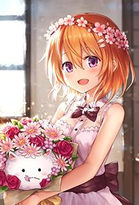 Аватар вконтакте Кокоа Хото / Kokoa Hoto и Типпи / Tippy из аниме Заказывали кролика? / Gochuumon wa Usagi Desu ka, автор Ks