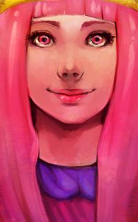 Аватар вконтакте Princess Bonnibel Bubblegum / Принцесса Боннибел Бабблгам / Принцесса Жвачка из мультфильма Adventure Time / Время приключений, by Momo-Deary