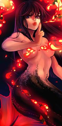 Аватар вконтакте Сирена Сейлор Марс / Sailor Mars из аниме Сейлор Мун / Sailor Moon, by Momo-Deary