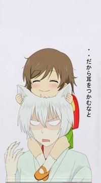 99px.ru аватар Нанами / Nanami и Томое / Tomoe из аниме Очень приятно, Бог / Kami-sama Hajimemashita