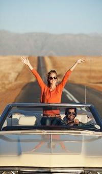 Аватар вконтакте Парень с девушкой едут в машине